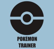 Subtle pokeball pokemon logo black - pokemon trainer Kids Clothes