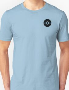 Subtle pokeball pokemon logo black - no words T-Shirt