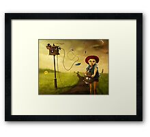 Storm Catcher Framed Print