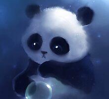Sad Panda by Febreezy