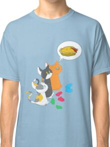 3 Silly Kittens Classic T-Shirt