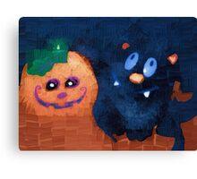 Spooky smiles Canvas Print