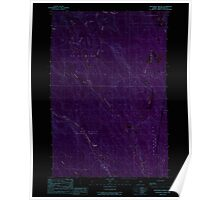 Maine USGS Historical Map Monument Brook 102767 1989 24000 Inversion Poster