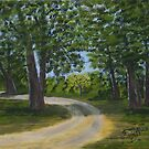 Bush scene Bunyip Australia by Samuel Ruth