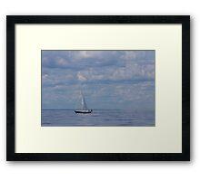 The Yacht Framed Print