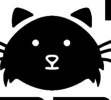 I am a crazy cat lady! I love cats Sticker
