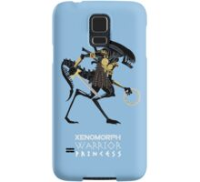 Xenomorph Warrior Princess Samsung Galaxy Case/Skin