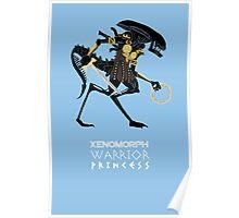 Xenomorph Warrior Princess Poster