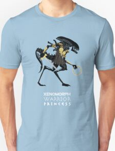 Xenomorph Warrior Princess T-Shirt