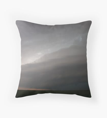 Step into a storm Throw Pillow