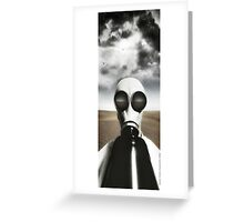Desert Storm Greeting Card