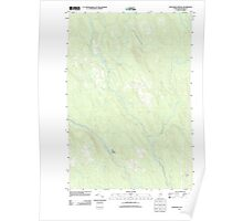 Maine USGS Historical Map Monument Brook 20110902 TM Poster