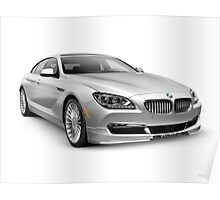 2015 BMW Alpina B6 Gran Coupe luxury car art photo print Poster
