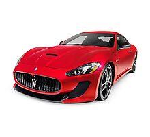 2015 Maserati GranTurismo MC Centennial Edition luxury car art photo print Photographic Print