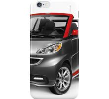 Smart Fortwo Electric Drive Cabriolet electric car art photo print iPhone Case/Skin