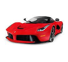 Ferrari F150 LaFerrari supercar sports car art photo print Photographic Print