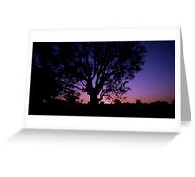 Thursday Sunset Greeting Card