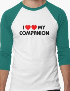 I Two-Heart My Companion Design (White) T-Shirt