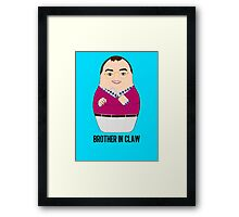 Brother in Claw Framed Print