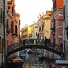 Cannaregio Ponte by bevanimage
