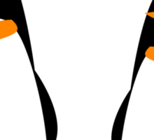 The Two Penguins Sticker