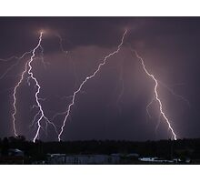 Incredible lightning bolts! Photographic Print