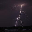 3D lightning bolt by jdeguara