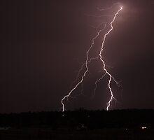 Lightning bows to nature by jdeguara