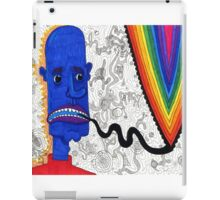 talking rainbow blues iPad Case/Skin