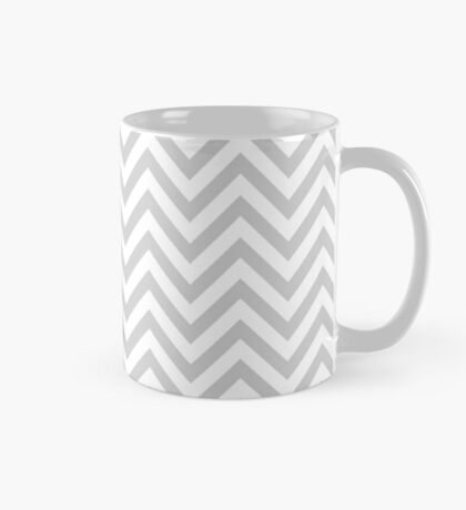 Grey Chevron Mug