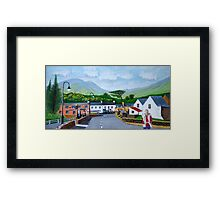 Simon in the township of Listowel, County Kerry, Irish Republic  Framed Print