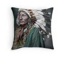 Whirling horse Throw Pillow