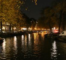 Amsterdam Canal3 Sticker