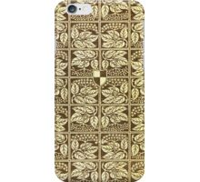 Vintage book cover with elder iPhone Case/Skin