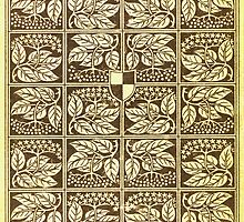 Vintage book cover with elder by Colorello