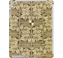 Vintage book cover with elder iPad Case/Skin