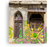 window and door Canvas Print