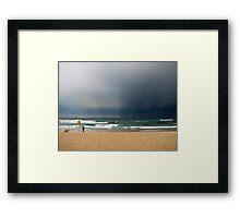 Bondi Storm Framed Print