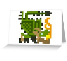 Pixel Rathian Greeting Card