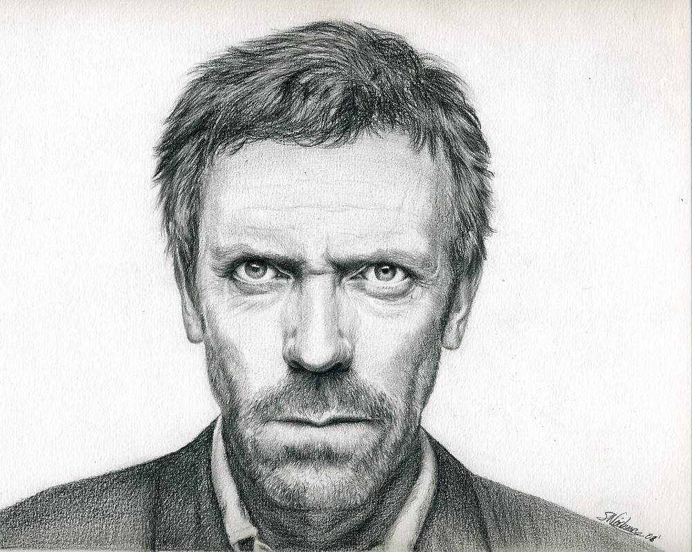House - The stare! by Samantha Norbury