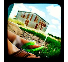 A Generation in Feet Photographic Print