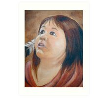 Shawnee child Art Print