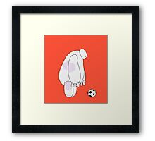 Big Hero 6 - Baymax (Orange) Framed Print