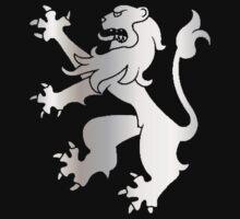 Rampant Lion Silver by Rowan  Lewgalon