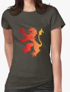 Rampant Lion Red-Orange T-Shirt