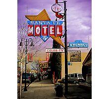 santa fe motel 2 Photographic Print
