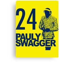 Pauly Swagger Canvas Print