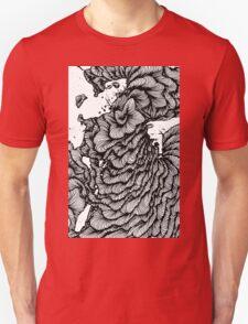 Black swirl art Vector Image T-Shirt