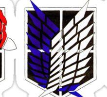 Attack on Titan Emblems Sticker