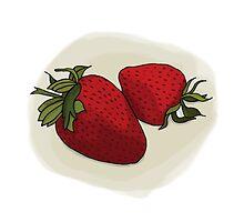 Strawberries by macpie